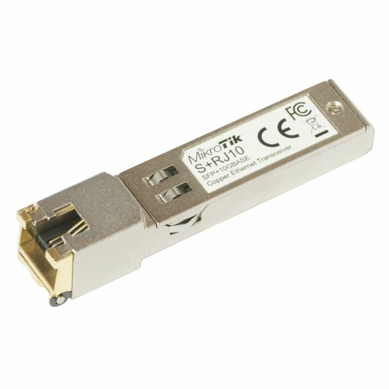 MikroTik S+RJ10 SFP+ RJ45 10Gbps Copper Module