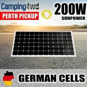 NEW! 200W SOLAR PANEL KIT 12V BATTERY CHARGING CAMPING GENERATOR