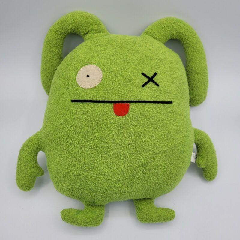 Ugly Doll Ox 2003 Green Stuffed Plush Toy Doll 10091 Pretty Ugly