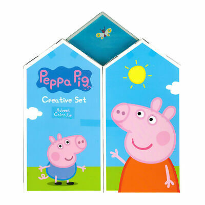 Peppa Pig Creative Advent Calendar Arts and Crafts Countdown to Christmas