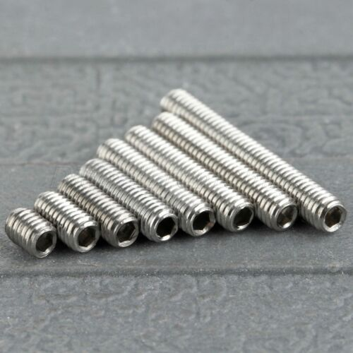 50 Pcs M3 Hex Socket Head Screws Allen Socket Bolts 4//6//8//10//12//14//16//20//25//30mm