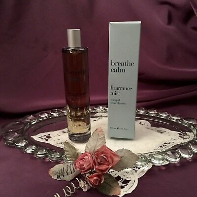 ~~Rare! Bath & Body Works Breathe Calm Fragrance Mist ~~Tranquil Lotus - Tranquil Lotus Blossom
