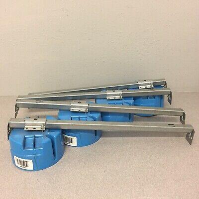 Carlon B620k 4 In. Round Polycarbonate 1 Gang Electrical Box Whanger Bar 4 Pack