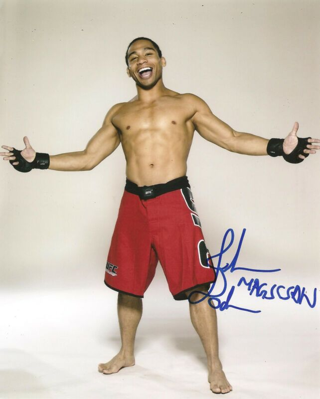 "JOHN ""THE MAGICIAN"" DODSON SIGNED 8X10 PHOTO AUTOGRAPHED UFC MMA"