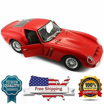 diecast model car Ferrari 250GTO red-Race and Play-1:24 scale