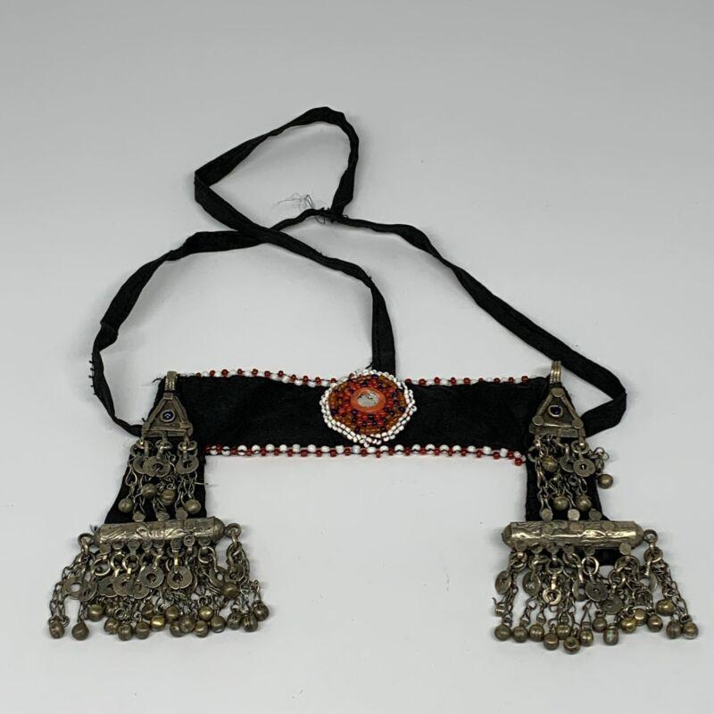 89g, Kuchi Headdress Headpiece Afghan Ethnic Tribal Gypsy @Afghanistan,B14452