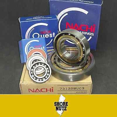 2 6203 2nse C3 Nachi Bearing 17x40x12mm Japan 6203-2rs 6203 Rs Rubber Sealed
