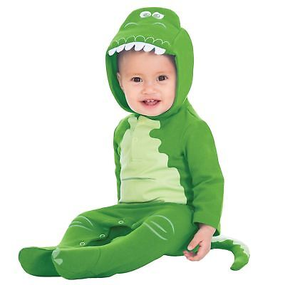 Disney Toy Story Rex Dinosaur Girls Boys Baby Grow Babies Fancy Dress Costume ()