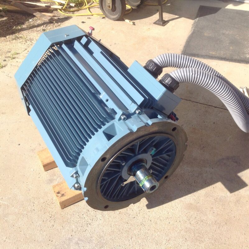 New ABB 125 Hp. Electric Motor. For Atlas Copco Compressor