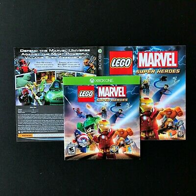 (MANUAL AND ARTWORK ONLY) (NO GAME) XBOX ONE - LEGO Marvel Super Heroes