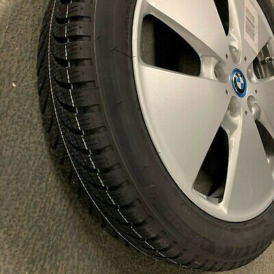 "Set of Brand New Genuine BMW i3 19"" RDCi Alloy Wheel + Winter Tyres 36110047998"