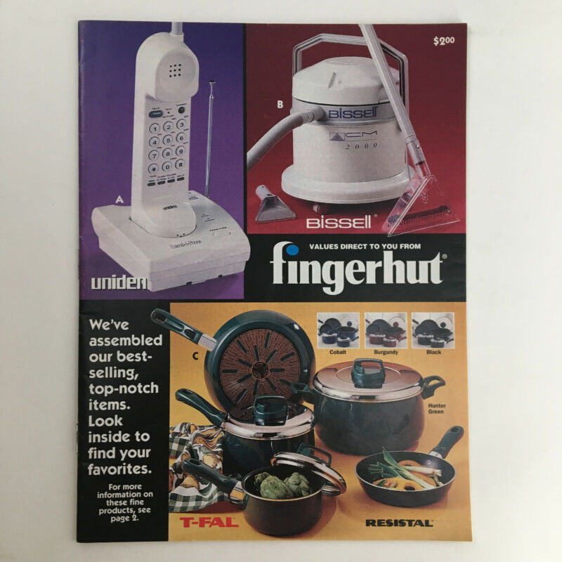 Values Direct to you from Fingerhut, Uniden & Bissell Toys 80s Catalog