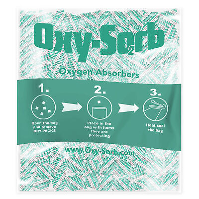 500cc Oxy-sorb 500 Packets Oxygen Absorbers Emergency Long Term Food Storage