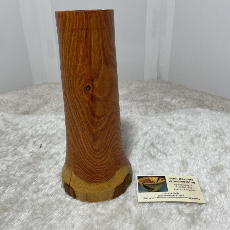 WoodTurning Handmade WoodWorking Paul Barnett wood base 2014