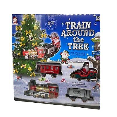 Trenino Elettrico Con Suono Treno Agganciabile su Albero Di Natale Decorazioni