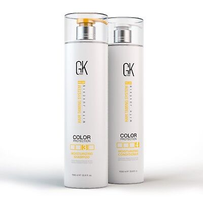Global Keratin Moisturizing Shampoo and Conditioner Color Protection 33oz GKhair