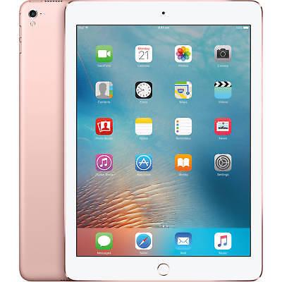 Apple iPad Pro A1674 32GB 9.7 GSM Unlocked Tablet-Rose Gold-Mint