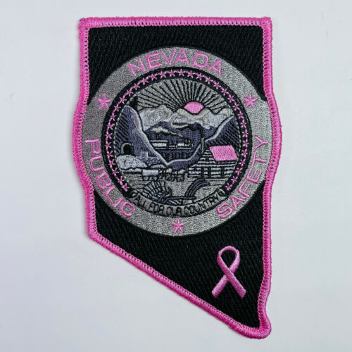 Pink Breast Cancer Awareness Nevada Highway Patrol Public Safety Patch
