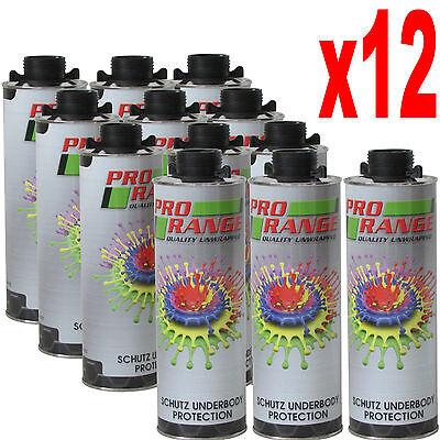 12 x Car Body Schutz Black Underseal 1 litre Textured Underbody Coating 3M