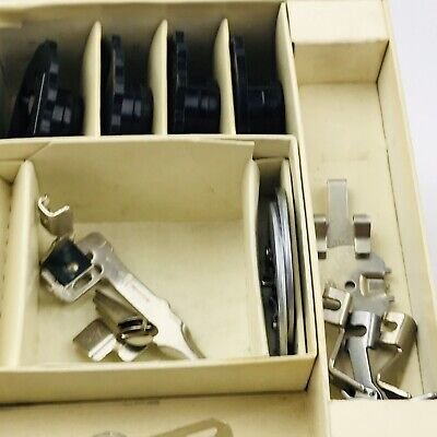 Attachments Singer Touch & Sew Deluxe Zig-Zag Sewing Machine Model 600 Vintage