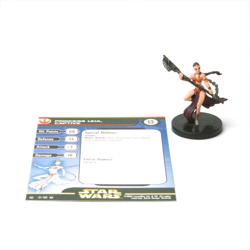 Star Wars Miniatures Rebel Storm #12: Princess Leia, Captive - Mini SWM THG