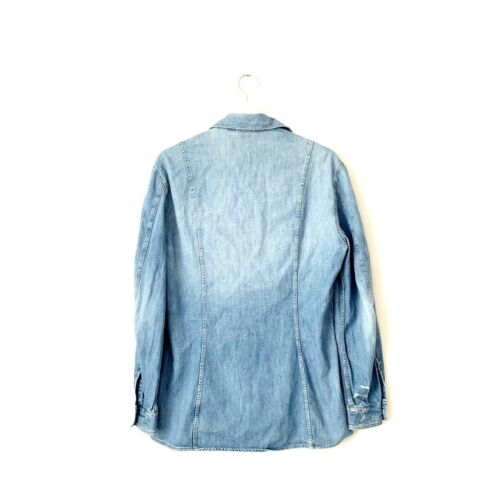 Chemise en jean femme versace jeans couture taille m