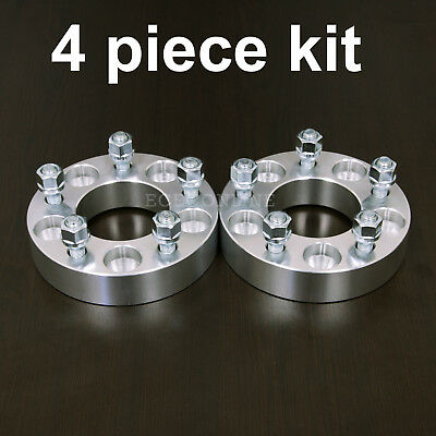 "4pc 1.25"" Adapter Spacers - allows 5x4.75 Cars to use 5x5 Wheels - 12x1.5 Stud"