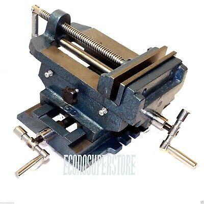 6 Cross Drill Press Vise Slide Metal Milling 2 Way X-y Clamp Machine