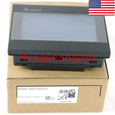 One New Genuine Delta Dop-b03s211 Hmi Touch Screen