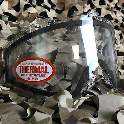 NEW JT Spectra & Flex Paintball Mask Thermal Anti-Fog Lens - - Mask Anti Fog Lens