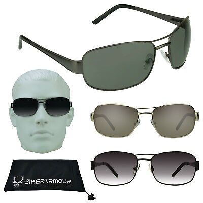 Mens Aviator Big Sunglasses Big Head Big & Tall Glasses Wide Large Face Metal (Mens Glasses Wide Face)