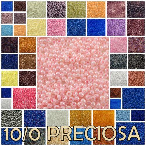 10/0 Preciosa Czech Seed Beads 00050-47113