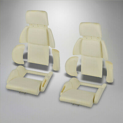 1989-1990 Corvette C4 Molded Sport Seat Foam, 8 Piece Car Set 642209