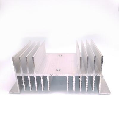 Us Stock Aluminum Heat Sink 125mm X 70mm X 50mm For Solid State Relay Ssr
