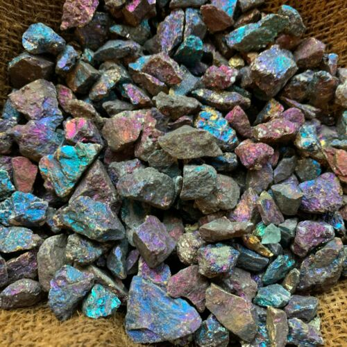 500 Carat Lots of (SMALL) Peacock Ore Rough Special Listing