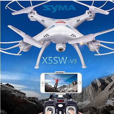 Syma X5SW-V3 2.4G RC Headless Quadcopter Drone with 0.3MP HD Wifi Camera