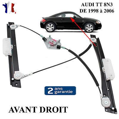 Türfensterheber elektrisch Vorne Links ohne Motor für Audi TT 8J3 8J9