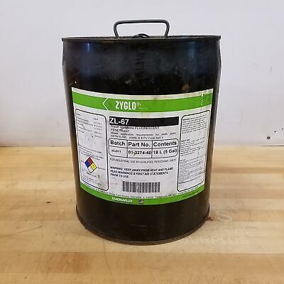 Magnaflux Zl-67 Level 3 Water Washable Fluorescent Penetrant 01-3274-40 - Used