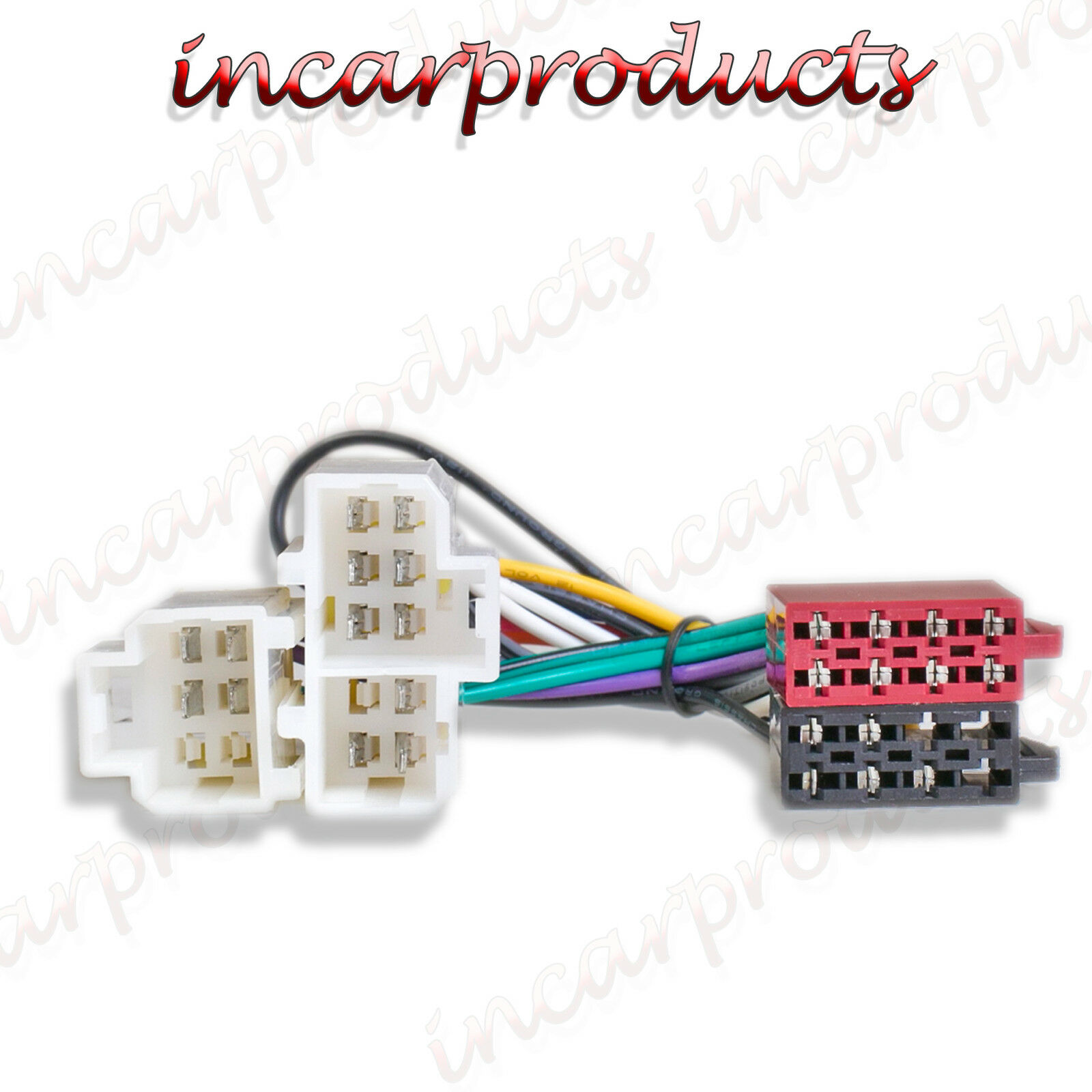 ISO Radio / Stereo harness / adapter / wiring connector for Nissan Patrol >  2000