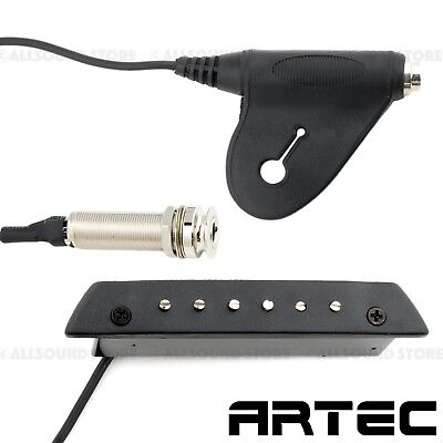 ARTEC MSP-50 Sound Hole Magnetic Pickup for Acoustic Guitar Endpin/External Jack
