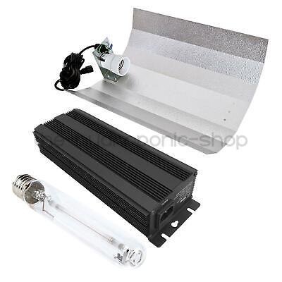 600w Digital Grow Light Kit HPS Ballast Bulb and Shade Hydroponics