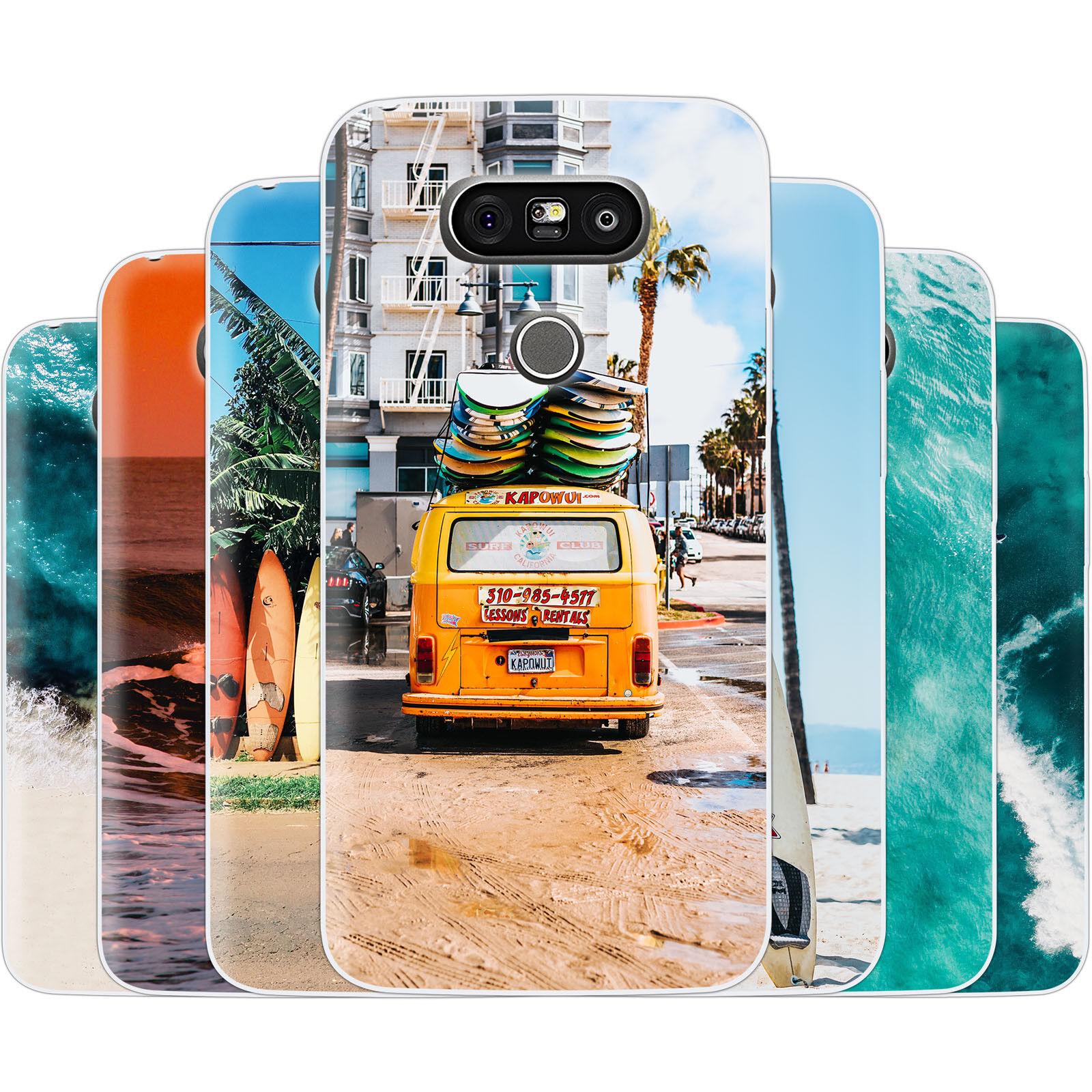 dessana Surfen Silikon Schutz Hülle Case Handy Tasche Cover für Samsung Galaxy