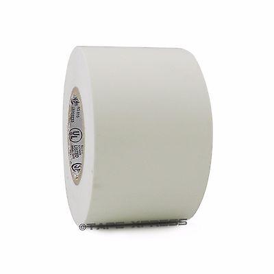 1 Roll White Vinyl Pvc Electrical Tape 2 X 66 Flame Retardant Free Shipping