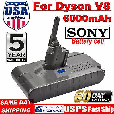 Sony Cell 6.0Ah For Dyson V8 Battery Animal V8 Absolute Handheld Vacuum Cleaner