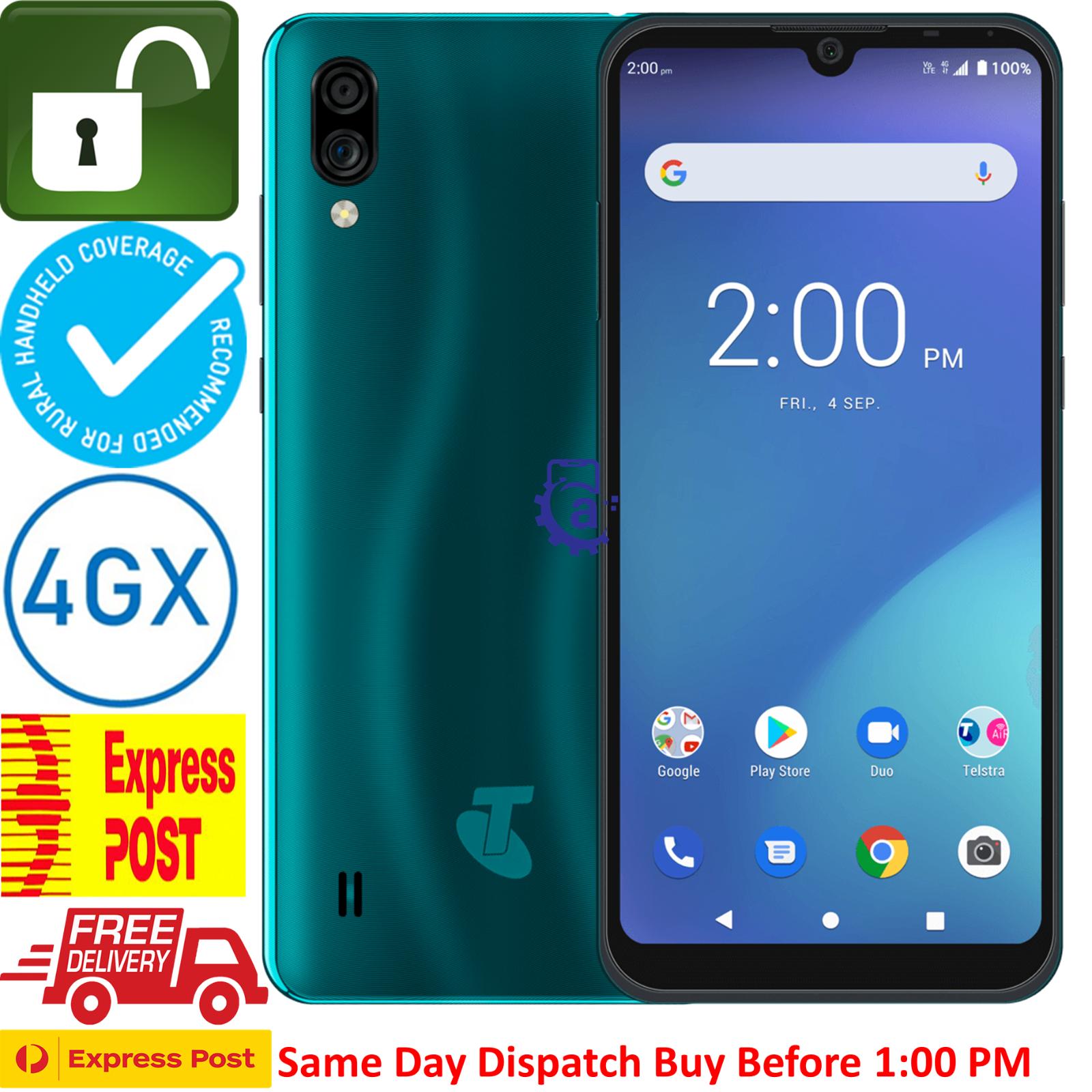 "Android Phone - Telstra Essential Pro 2 (ZTE A5 2020) (4GX, 6.1"",32GB/2GB) Blue Tick UNLOCKED"
