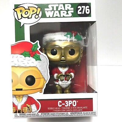 Funko Pop Holiday Star Wars C-3PO #276 Disney Christmas