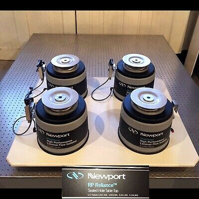 Complete Turnkey Newport Breadboard Optical Table 5 X 6 X 12 W Vib Isolators