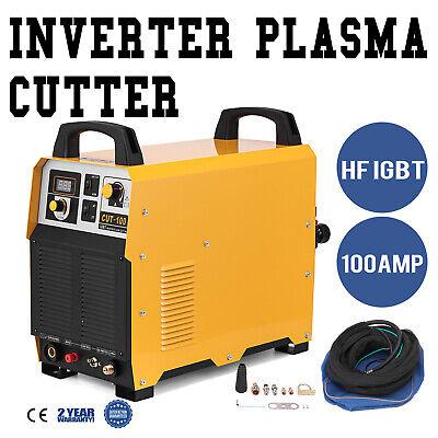 Cut-100 Pilot Arc Plasma Cutter 100a Igbt Inverter Cutting Machine Max Cut 1.38