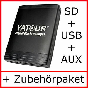 USB MP3 AUX Adapter Mercedes Special Exquisit W124 W140 CD-Wechsler SD Interface