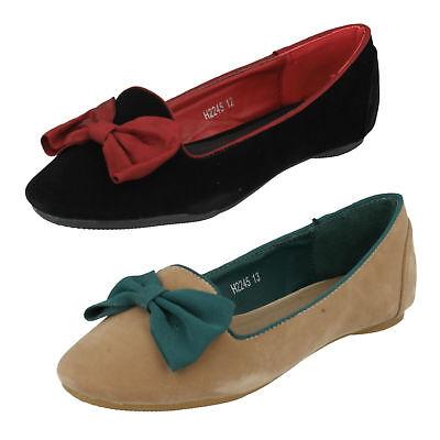 Verkauf Jetzt Mädchen Cutie QT Zum Reinschlüpfen Schuhe mit Schleife auf